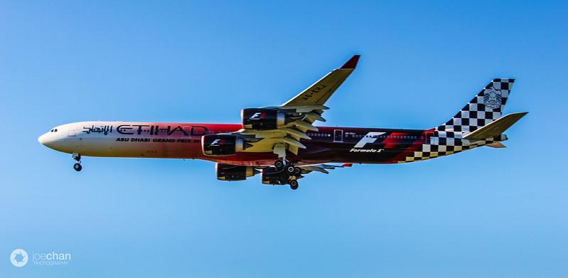 Etihad's Black Jet