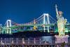 Rainbow Bridge and the Statue of Liberty Replica