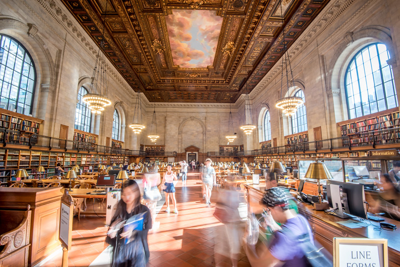 NYC Library Rush