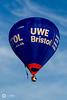 Visit Bristol / UWE Bristol balloon
