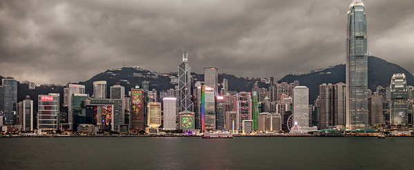 Hong Kong skyline, SAR China