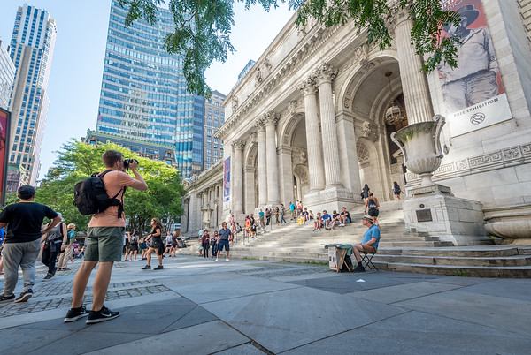 Photographing the NYC Public Library