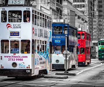 """Ding Ding"" (Tram). Hong Kong, SAR China"