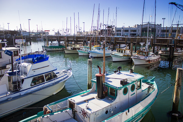 Fishermans Warf Docks SF