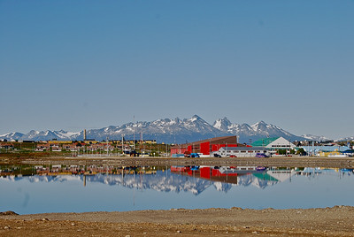 Reflections of Ushuaia