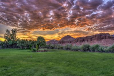Sunset, Capital Reef National Park, Utah