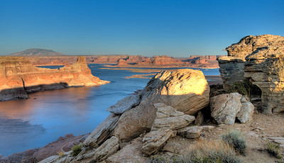 Lake Powell, from Alstrom Point, Utah