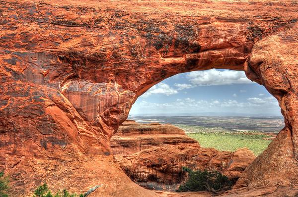Partition arch @ Arches national park