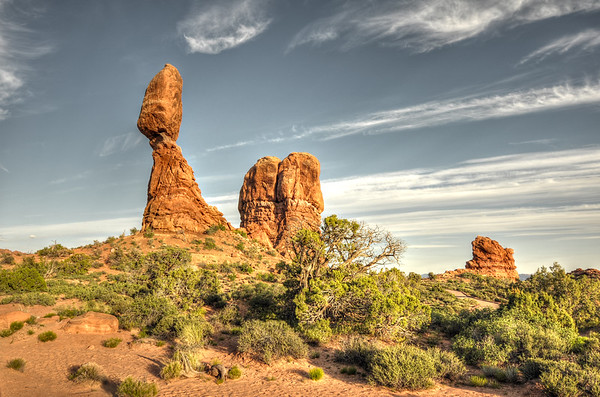 Balanced rock @ Arches national park