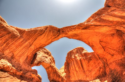 Double arch @ Arches national park