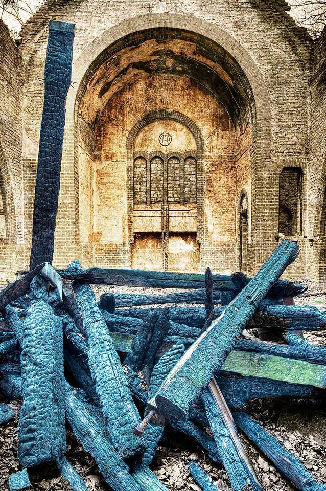 Chapel Burning Down