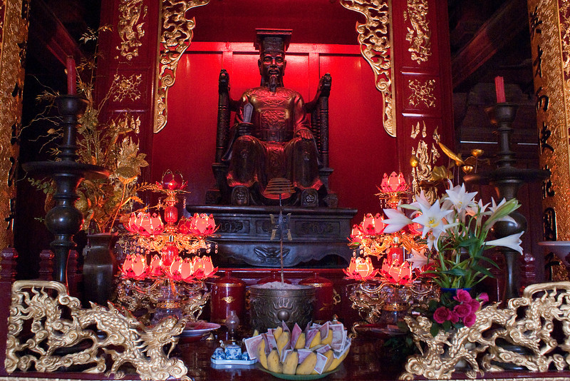 HANOI. VAN MIEU. QUOC TA GIAM [THE FIRST UNIVERSITY OF HANOI].