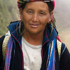 SAPA. TAVA VILLAGE. PORTRAIT OF A LOCAL TRIBE WOMAN.