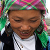 SAPA. TAVA VILLAGE. PORTRAIT OF A LOCAL TRIBE WOMAN.