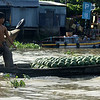 MEKONG DELTA. WATER MELON SELLER.