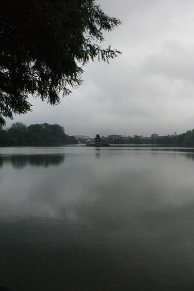 HANOI. HOAN KIEM LAKE.