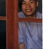 HUE. LINH MU. THIEN MU PAGODA. PORTRAIT OF NOVICE SA [19 y.o.]. [3]. VIETNAM.