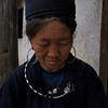 SAPA. BLACK H'MONG LADY. VIETNAM.