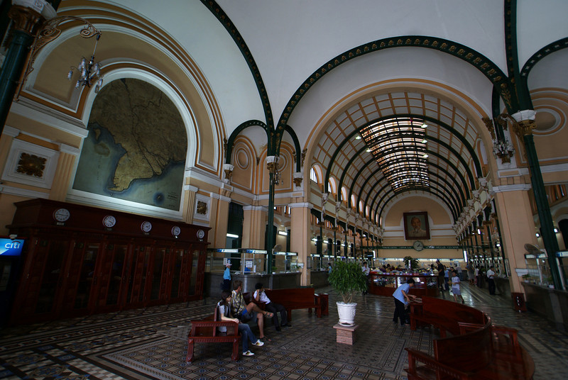 Old French post office in Saigon, Vietnam | by JeeWee.eu 18-05-09