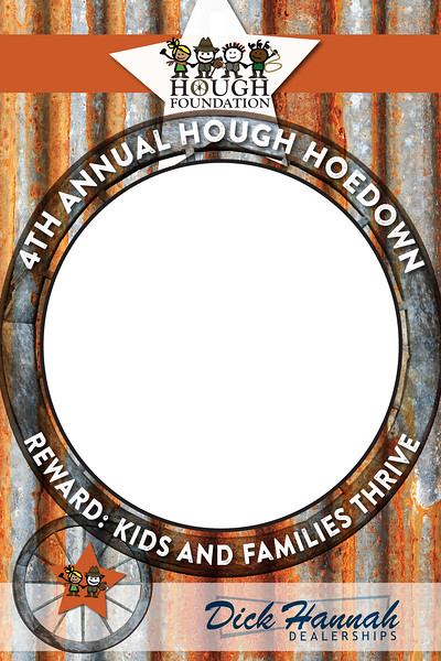 Hough Hoedown 2019 VIP Photobooth Frame