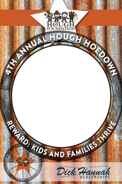 Hough Hoedown 2019 VIP Photobooth Frame