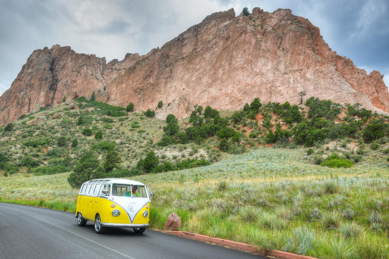 Raible VW Garden Gods 66 Bus