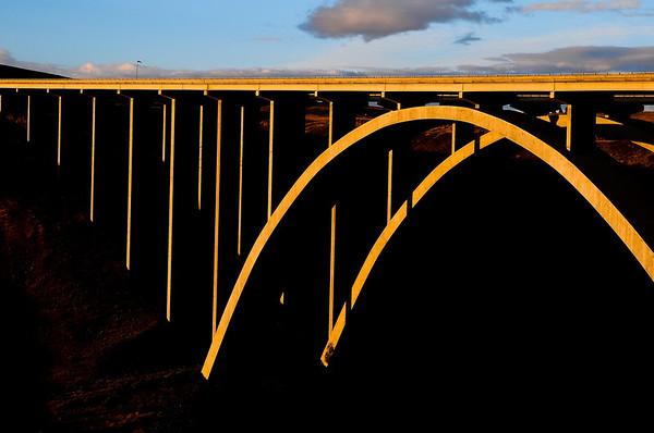 Fred G. Redmon Bridge over Selah Creek