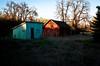 Farm Sheds near Cowiche Creek