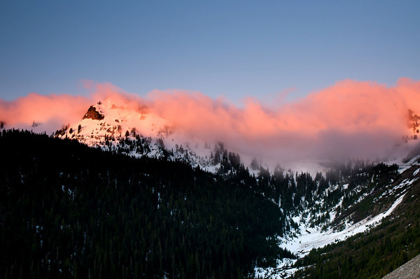Naches Peak at Dawn