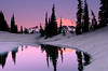 Alpenglow - Mt. Rainier National Park