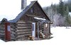 Log cabin on Ahtanum Creek