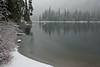 First snow on Cooper Lake - Cle Elum River Valley