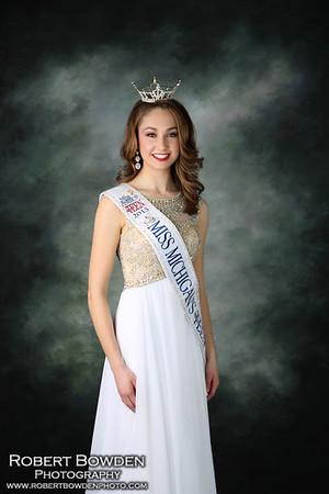 Vanessa Chambe Miss Michigan's  Outstanding Teen 2015-16
