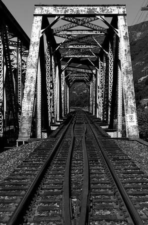 Utah Train Bridge