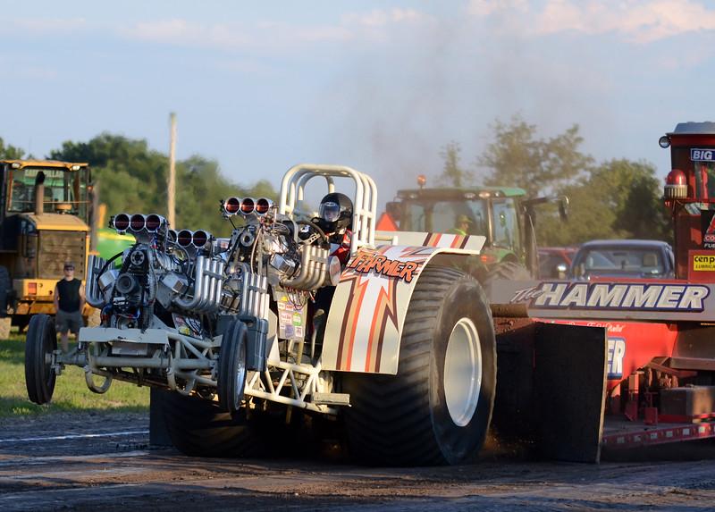 Tractor pull at the Harford County Farm Fair