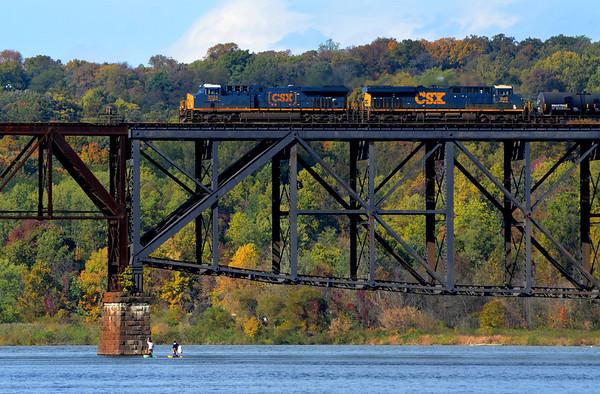 Train Crossing the Susquehanna
