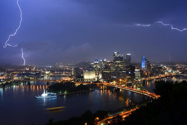 Lightning Over Pittsburgh
