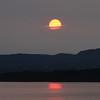Solnedgangen  over Malmøya - 11.juli 2013