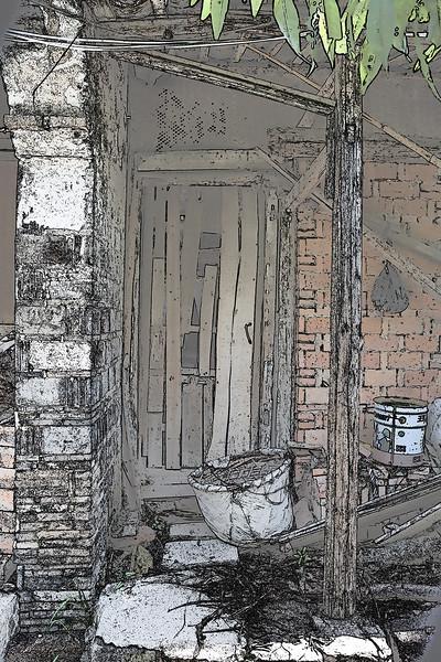 Door and Pail