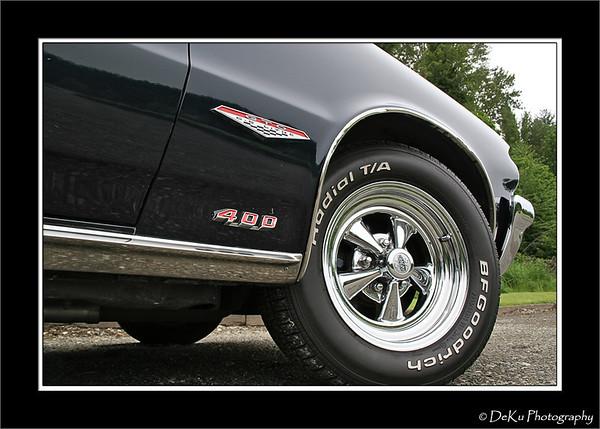 Dark Blue 1964 GTO