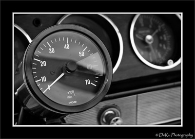 Gauges from a 1965 GTO