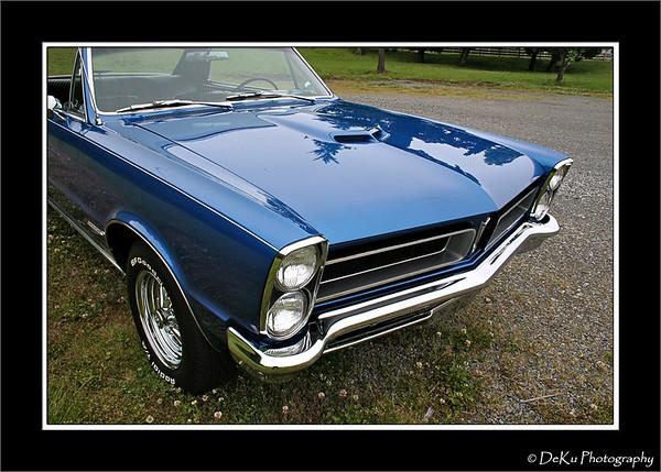 Blue 1965 GTO