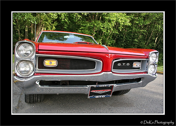 Red 1966 GTO