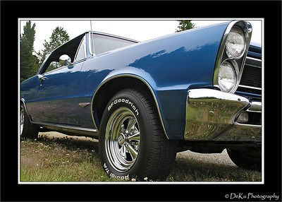 A worm's view of a 1965 GTO