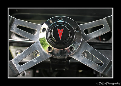 Steering wheel from a 1964 GTO