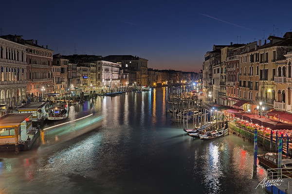 Grande Canale by night