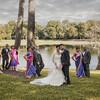indian wedding party beautiful lake orlando photographer