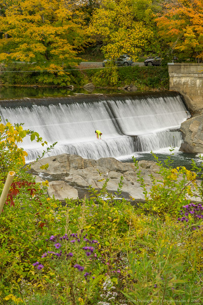 Taftsville Covered Bridge and Falls-2