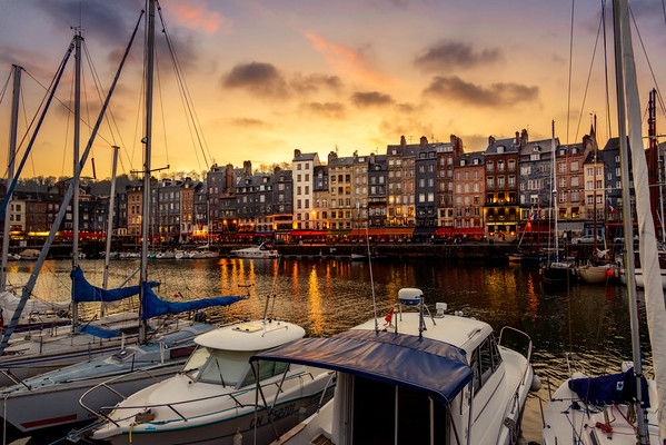 Port of Honfleur, France