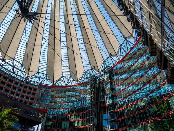 Potsdamer Platz (Sony Center), Berlin